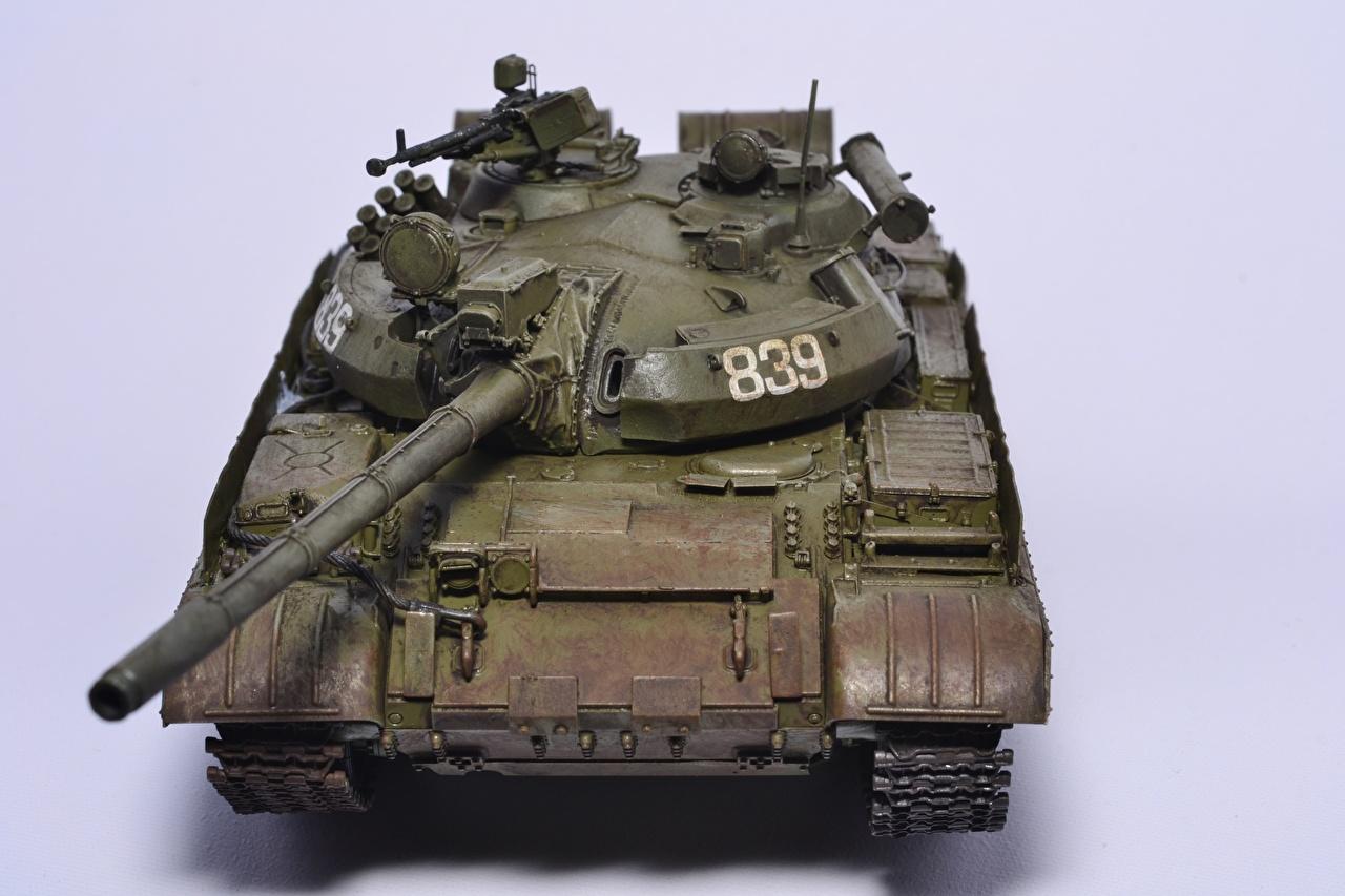 Foto Carri armati russa T-55 giocattolo Esercito carro armato russo Russi Giocattoli
