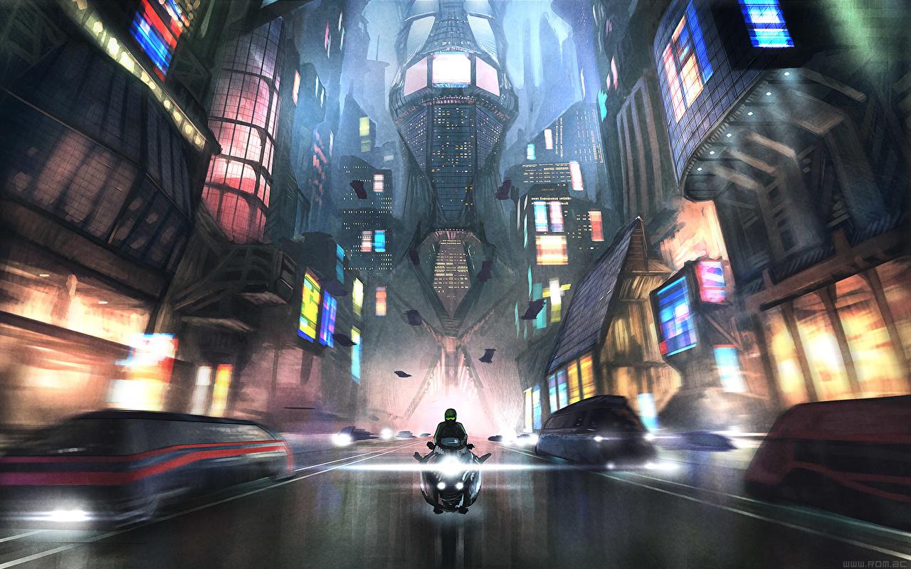 Images Fantasy Roads Fantastic world Technics Fantasy