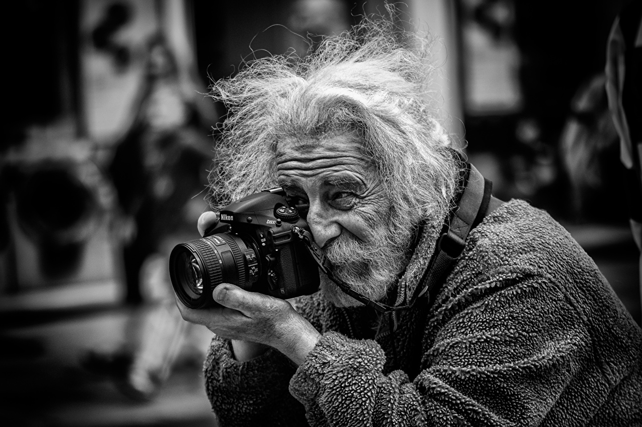 Fondos De Pantalla Varón Street Photographer Barba Viejo