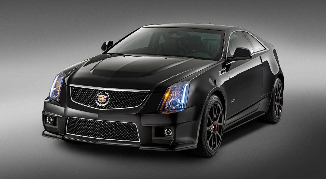 Bilder von Cadillac CTS-V, Coupe, Special Edition, 2015 Coupe Grau automobil Metallisch Grauer Hintergrund graue graues auto Autos