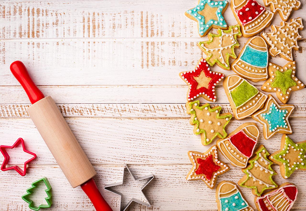 Christmas Cookies Wallpaper.Desktop Wallpapers Stars New Year Christmas Tree Food Cookies