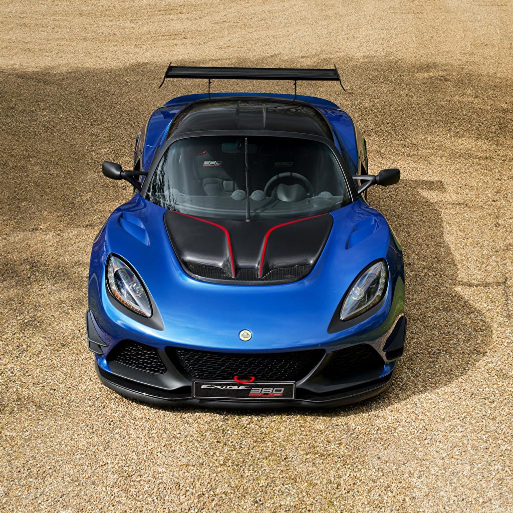 Hintergrundbilder Lotus 2017 Exige Cup 380 Blau Autos Vorne