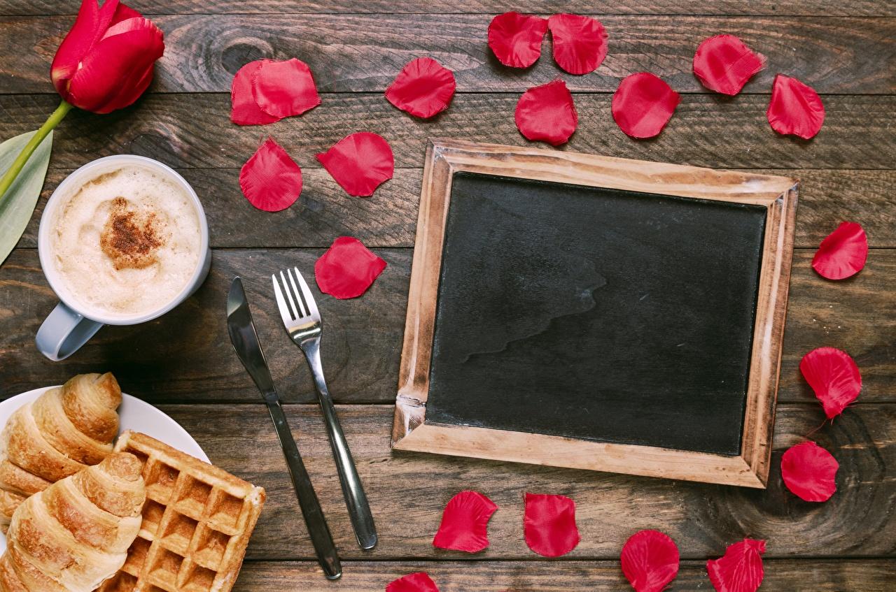 Wallpaper Petals Cappuccino flower Fork Template greeting card Flowers