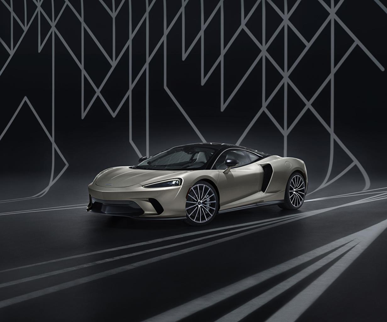 Wallpaper McLaren 2020 GT by MSO Grey Cars gray auto automobile