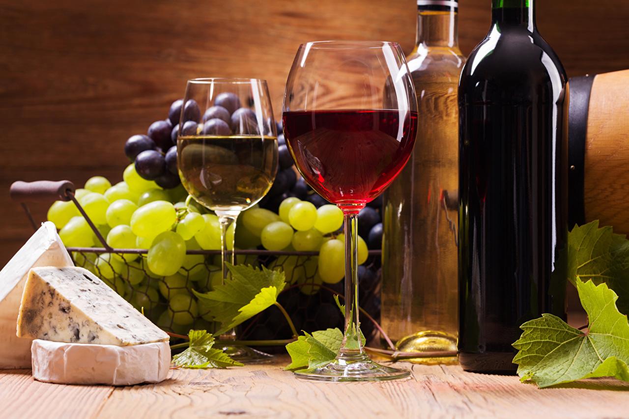 Обои вино, wine, виноград, Grapes, сыр, бутылка, красное, cheese. Еда foto 16
