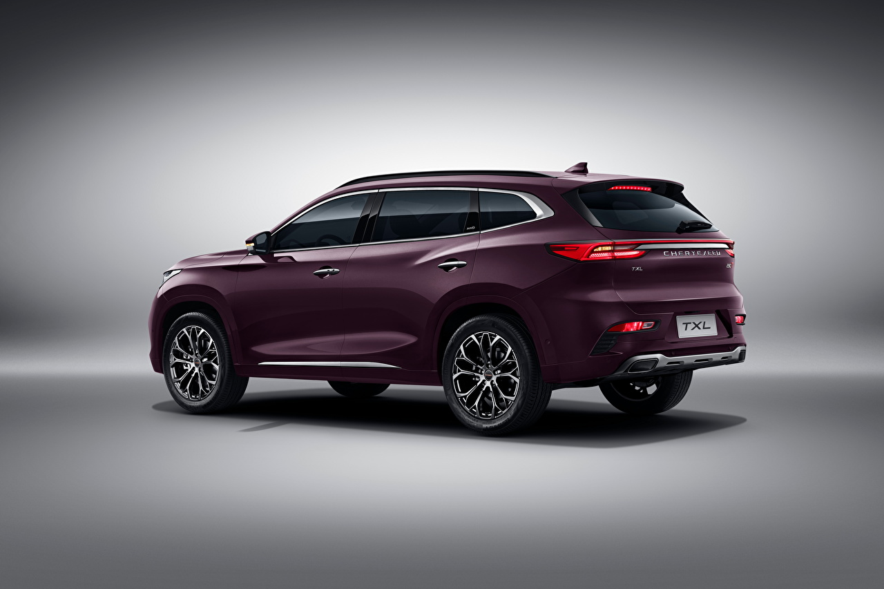 Wallpaper Chery Chinese Crossover Exeed TXL, 2019 auto Metallic CUV Cars automobile
