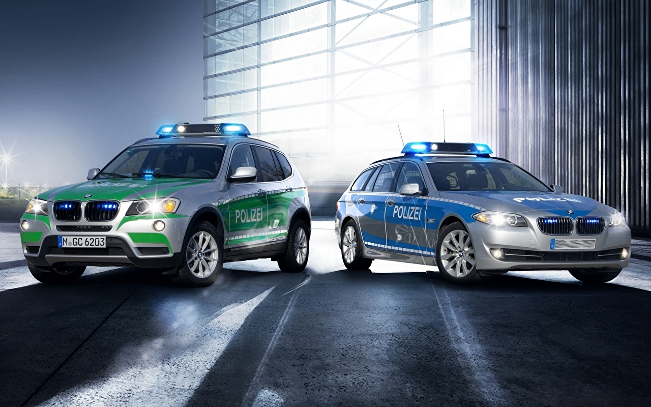 Image BMW Police Cars auto automobile