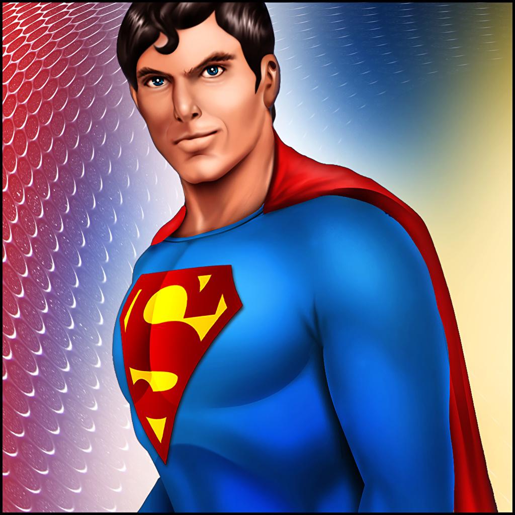 Superman Herói Homem Christopher Reeve Fan ART Fanart Fantasia