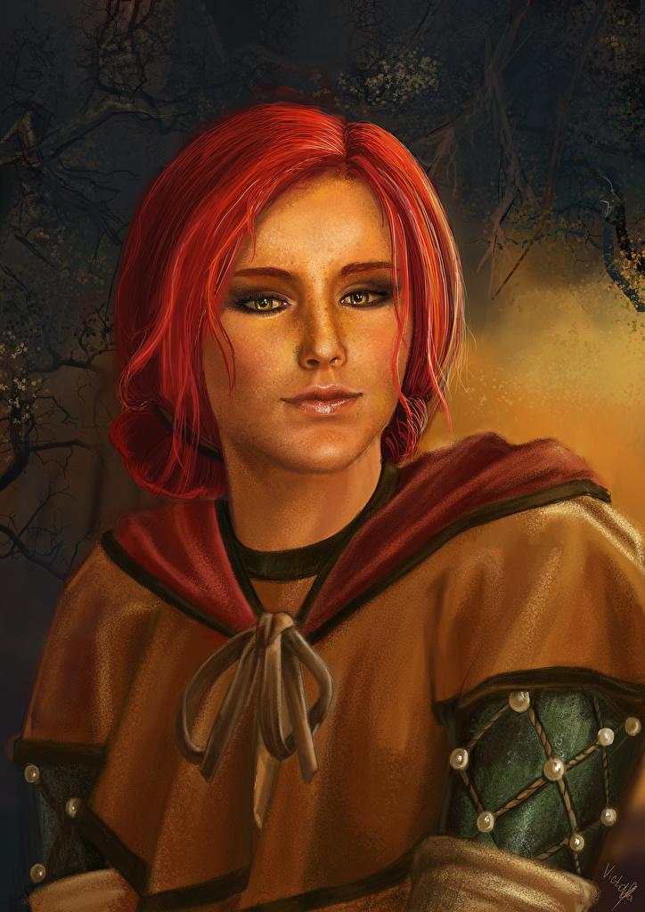 Fondos De Pantalla The Witcher 3 Wild Hunt Triss Merigold