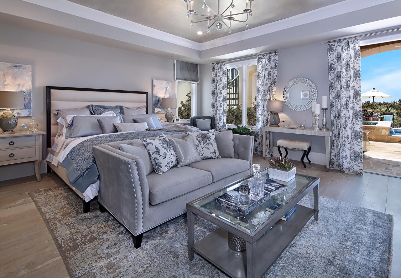 Fotos Schlafzimmer Innenarchitektur Bett Sofa Tisch Teppich Design