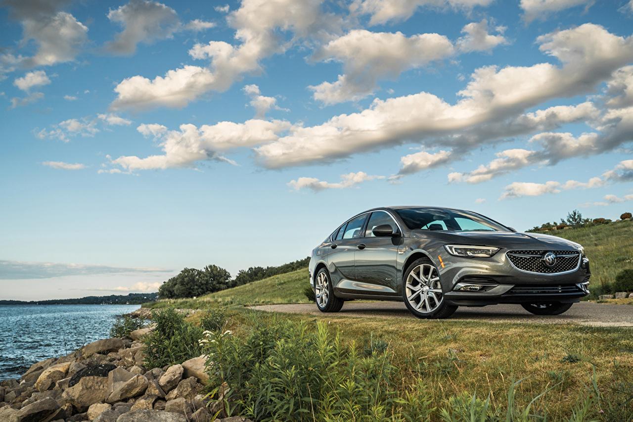 Fotos Buick 2019 Regal Avenir Grau Autos Metallisch graue graues auto automobil