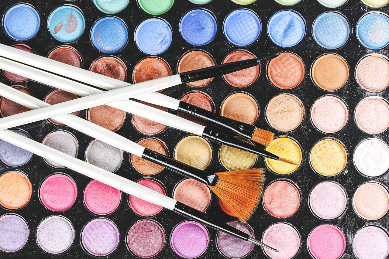 Pictures Cosmetics Multicolor Paintbrush