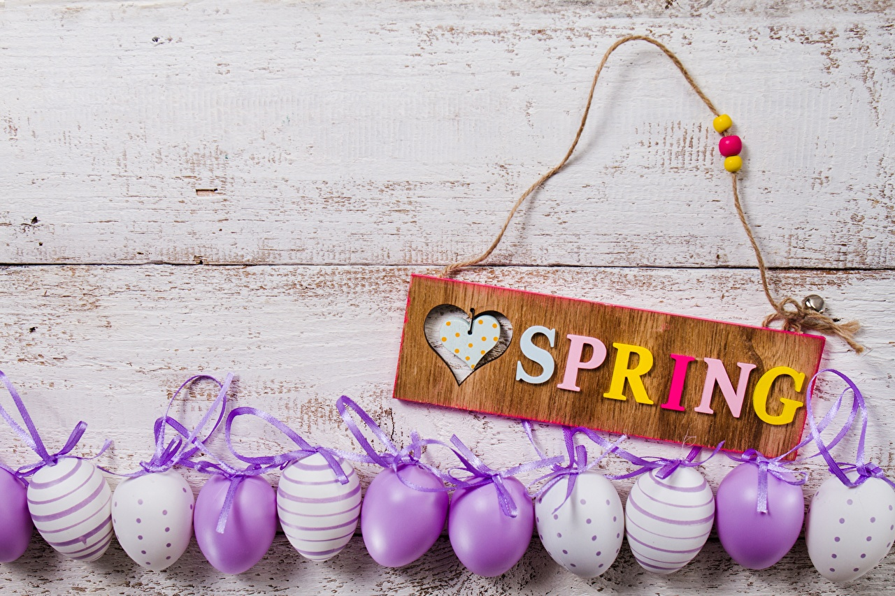Wallpaper Easter English Eggs Spring lettering egg text Word - Lettering
