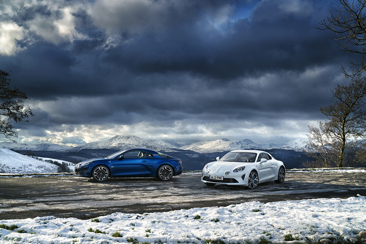 Wallpapers Renault 2017-19 Alpine A110 2 auto Two Cars automobile