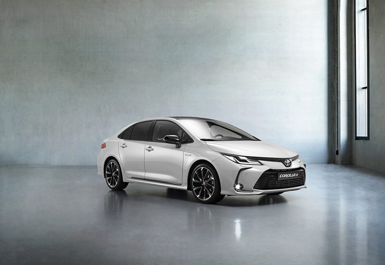 Image Toyota Corolla Hybrid Sedan GR Sport, 2020 White Cars Metallic auto automobile