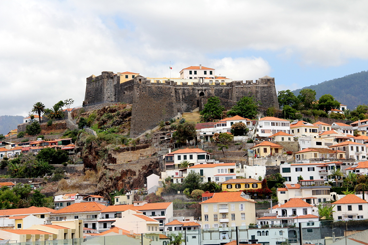 Photo Portugal Madeira Cities Building Houses