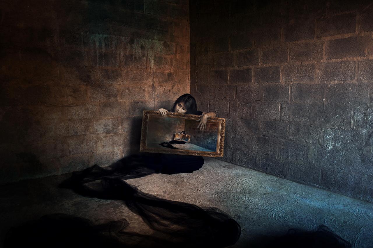 壁紙 ゴシックファンタジー 部屋 壁 ファンタジー 少女