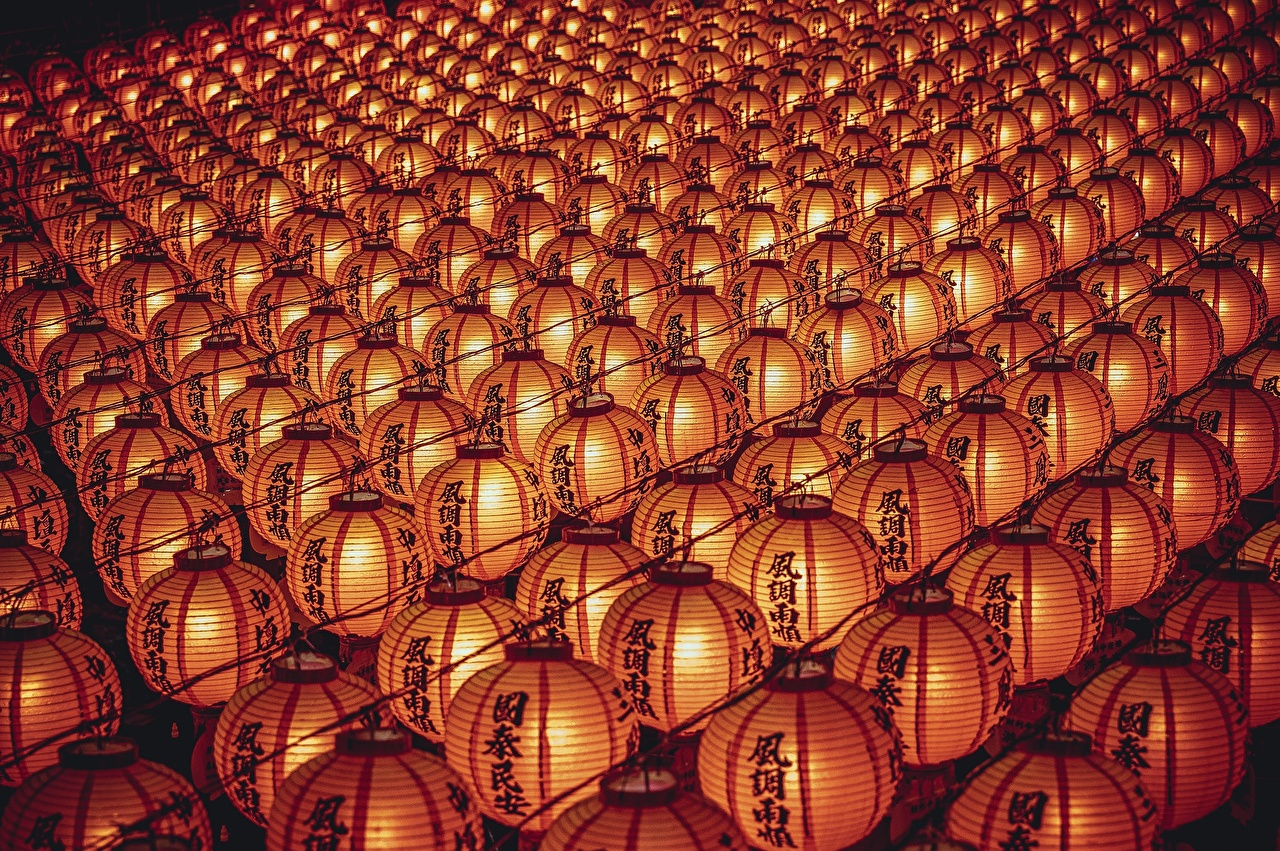 壁紙 たくさん テクスチャー 提灯 中国の ダウンロード 写真