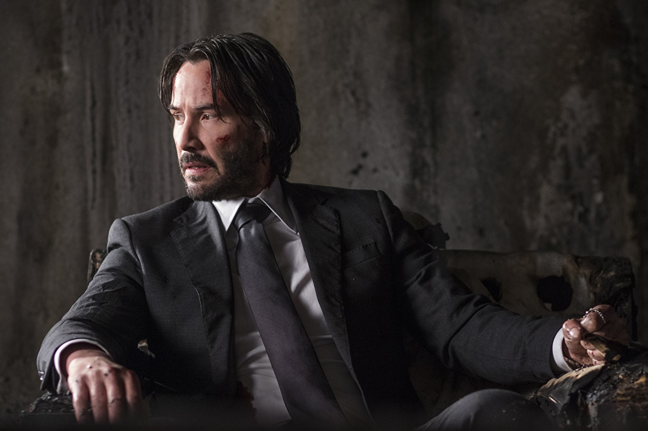 John Wick Chapter 2 Men Keanu Reeves Costume 531257 1280x853 12+ Best Keanu Reeves HD Wallpaper and Photos