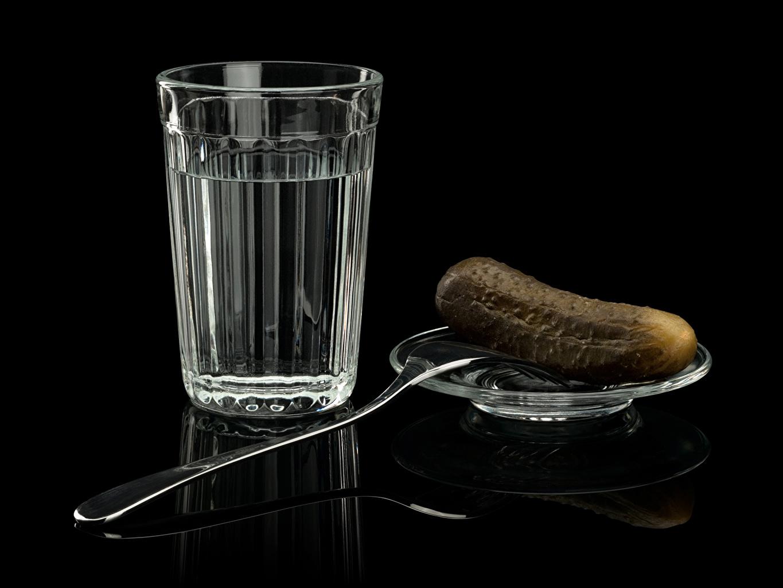 Wallpaper Vodka Cucumbers Highball glass Fork Food drink Drinks