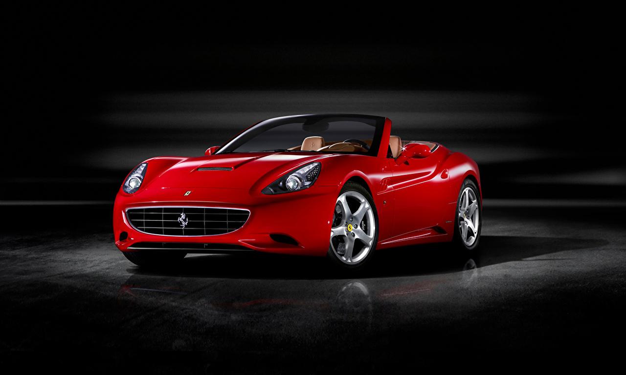 Desktop Wallpapers Ferrari Roadster Red auto Metallic Cars automobile