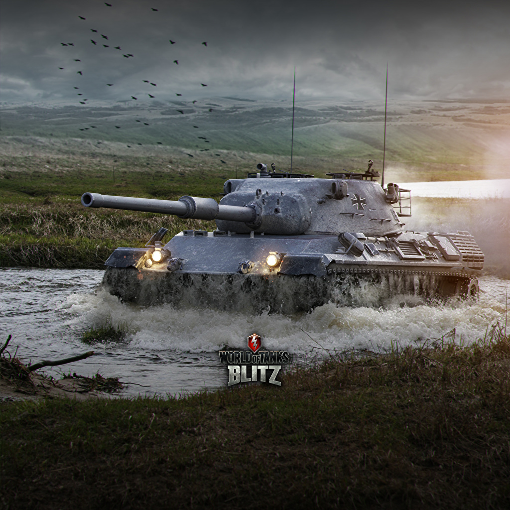 Images WOT tank German Blitz, Leopard 1 vdeo game