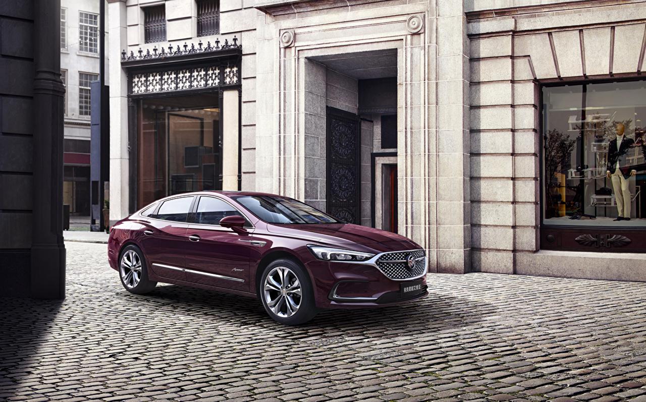 Photo Buick 2019-20 LaCrosse Avenir maroon Cars Metallic dark red burgundy Wine color auto automobile