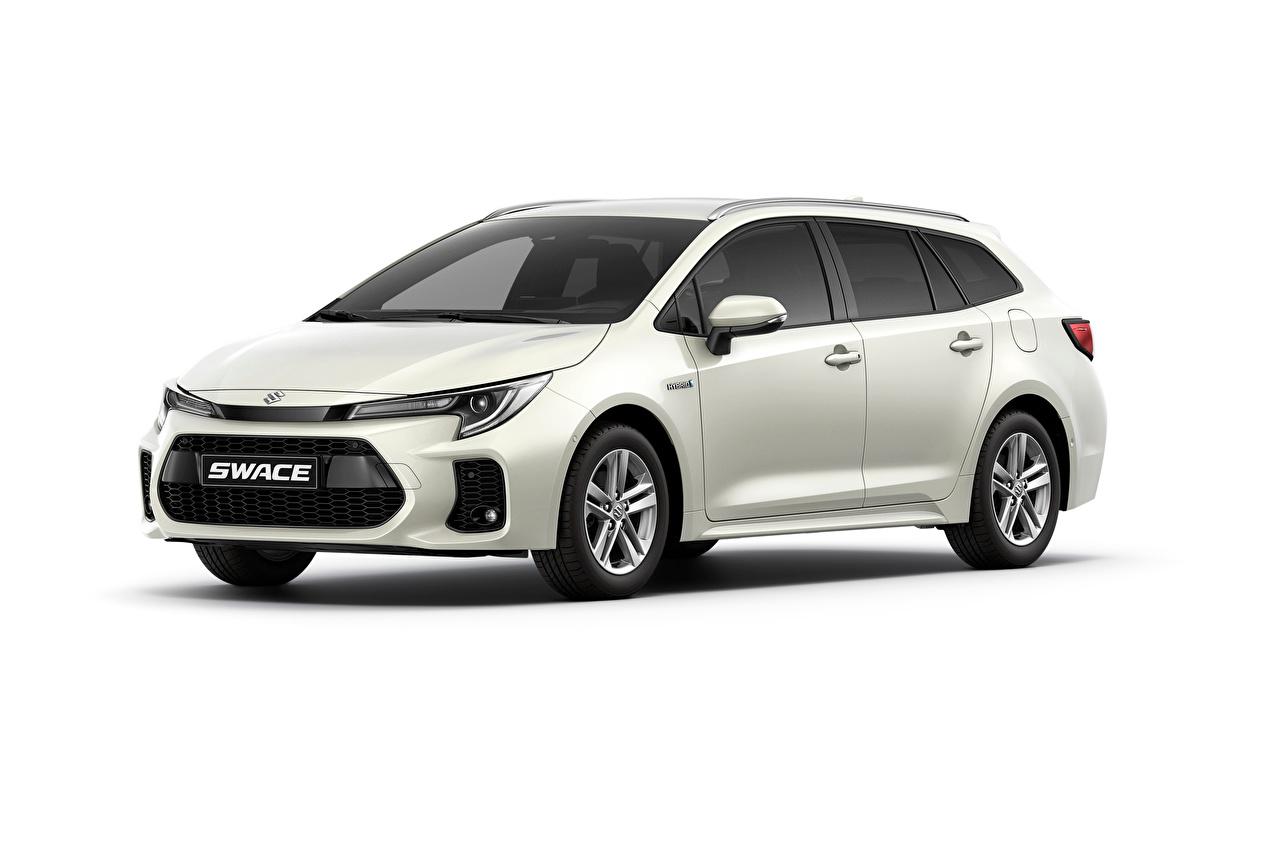 Fotos Suzuki - Autos Kombi Swace, 2020 Autos Metallisch Weißer hintergrund auto automobil