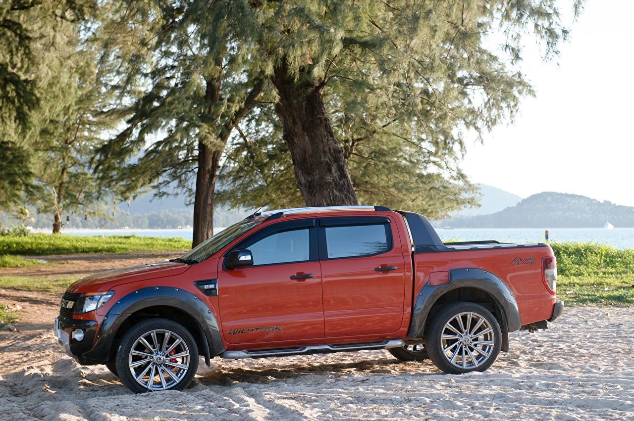 Fondos De Pantalla Ford Ranger Wildtrak Uk Spec Pickup