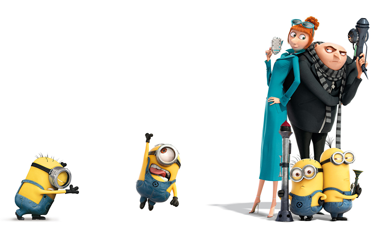 Foto Ich – Einfach Unverbesserlich 2 Mann Mädchens Animationsfilm 1280x800 Zeichentrickfilm