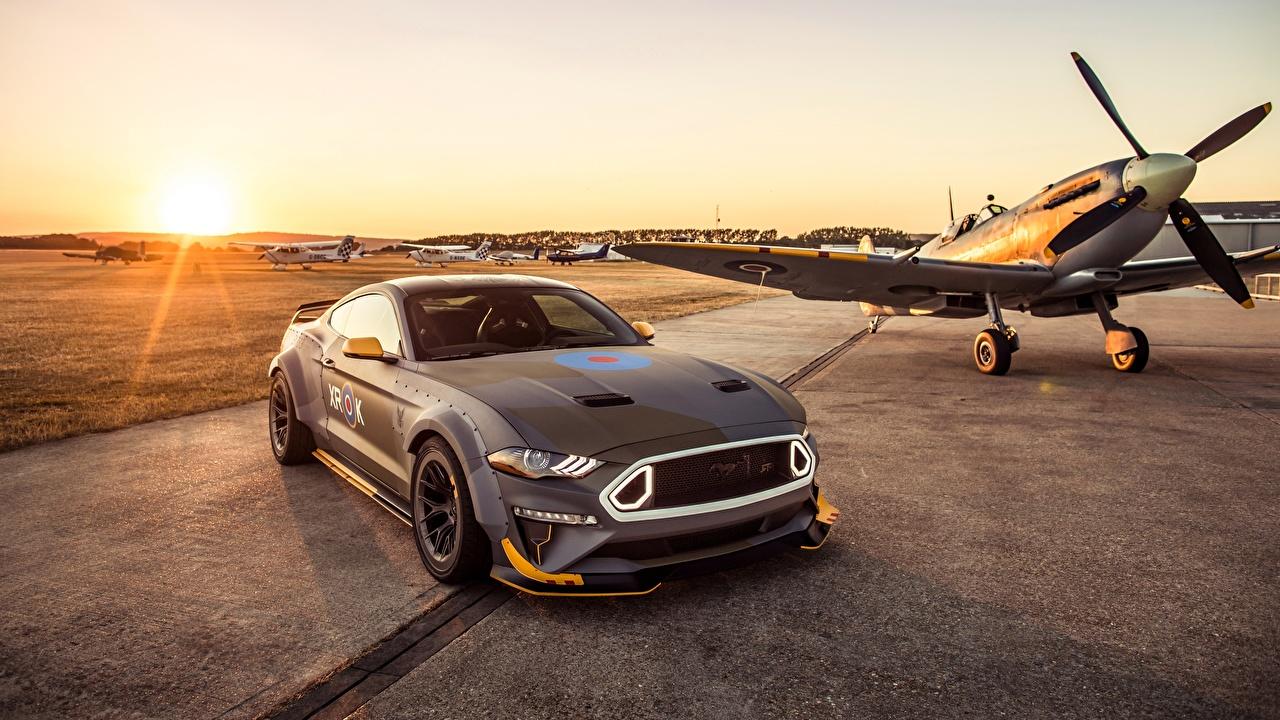 Bilder Ford RTR 2018 Mustang GT Eagle Squadron automobil auto Autos