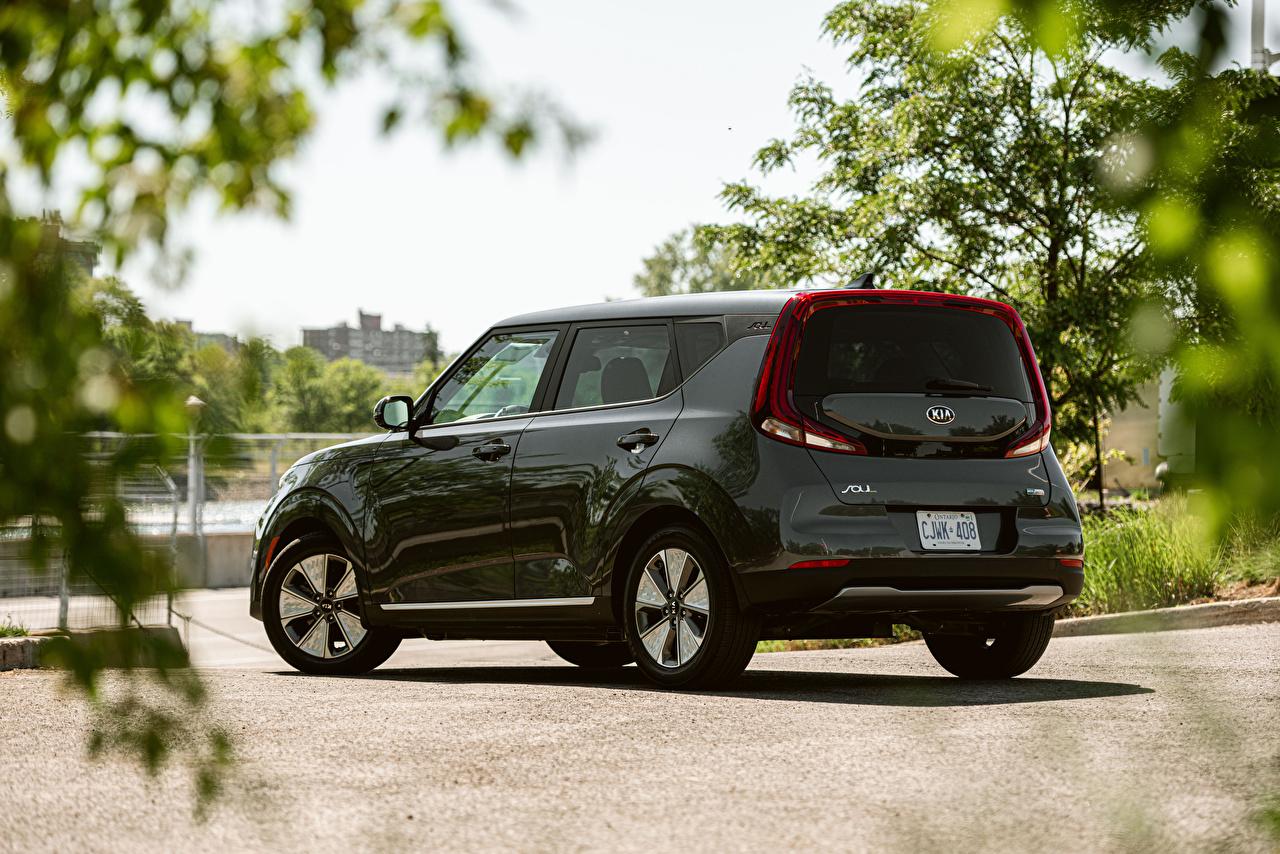 Fotos KIA Soul EV, North America, SK3, 2019 auto Metallisch Autos automobil