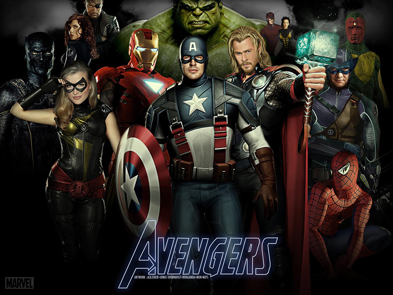 Wallpaper The Avengers 2012 Film Chris Evans Captain America Hero