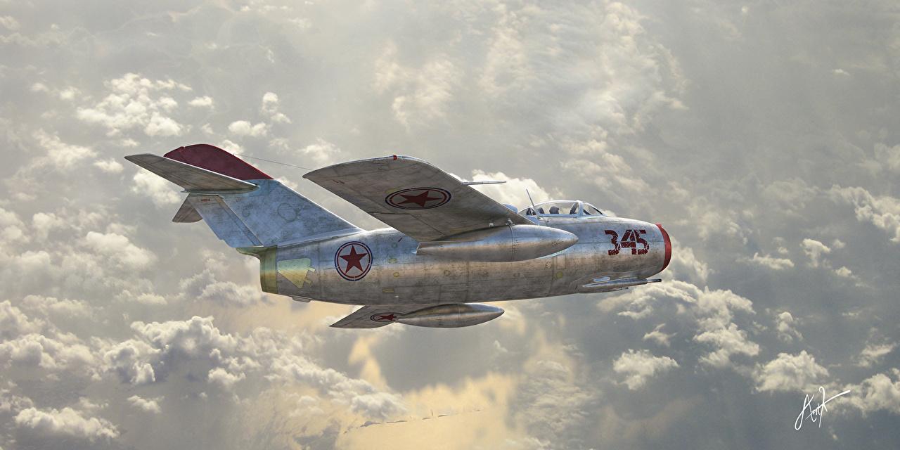 Os estadunidenses ficaram chocados ao encontrar o MiG-15 leve, rápido, manobrável e fortemente armado