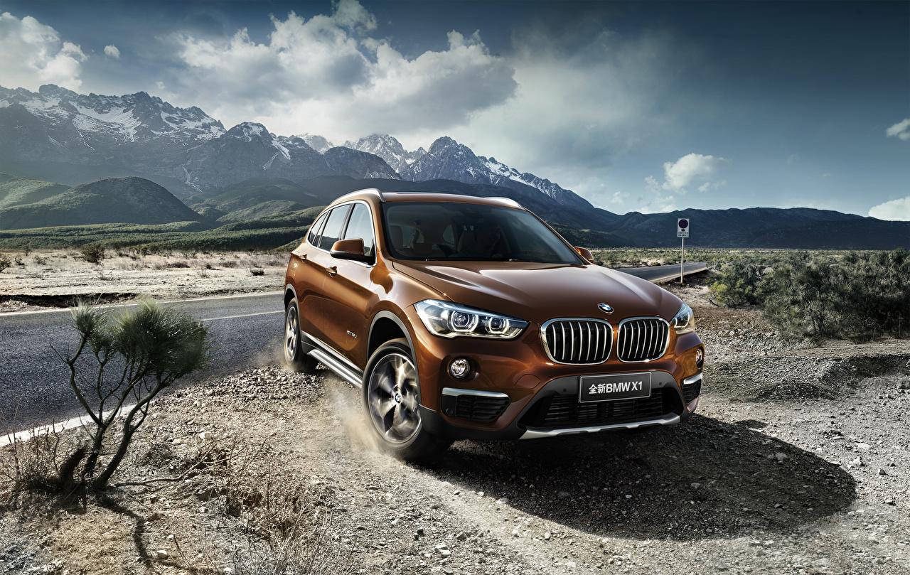 Picture BMW 2016 X1 xDrive25Li xLine Orange Metallic automobile Cars auto