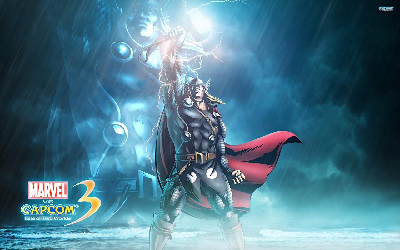 壁紙 Marvel Vs Capcom ウォリアーズ コミックヒーロー 男性