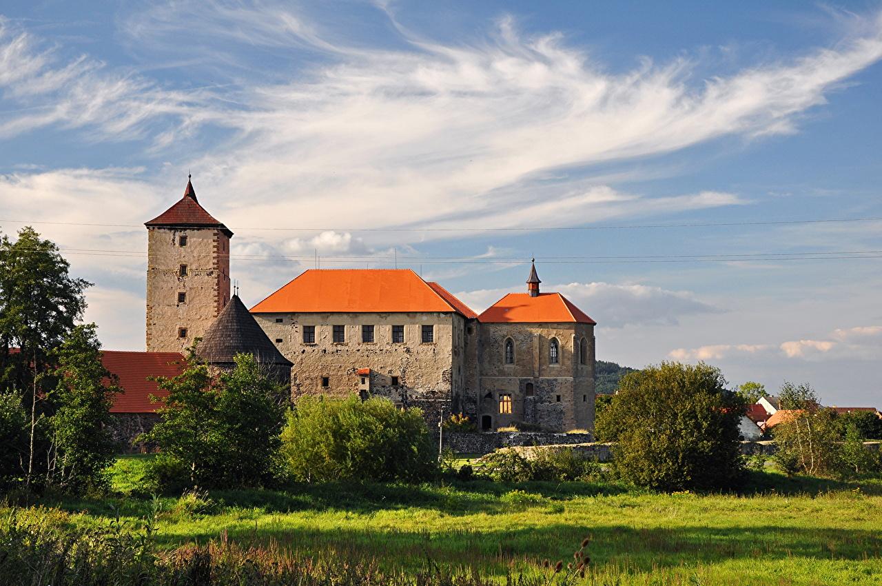Castillo República Checa Cielo Ciudades
