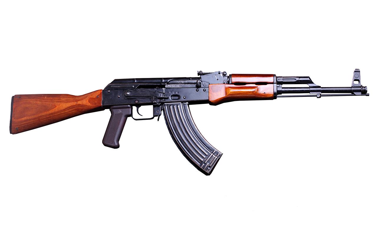 Foto AK 47 Sturmgewehr Heer Kalaschnikow