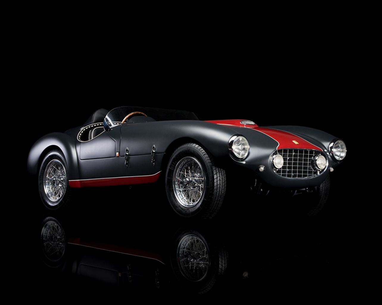 Wallpapers Ferrari 1953 Classic 166 MM/53 Spyder Retro auto ...