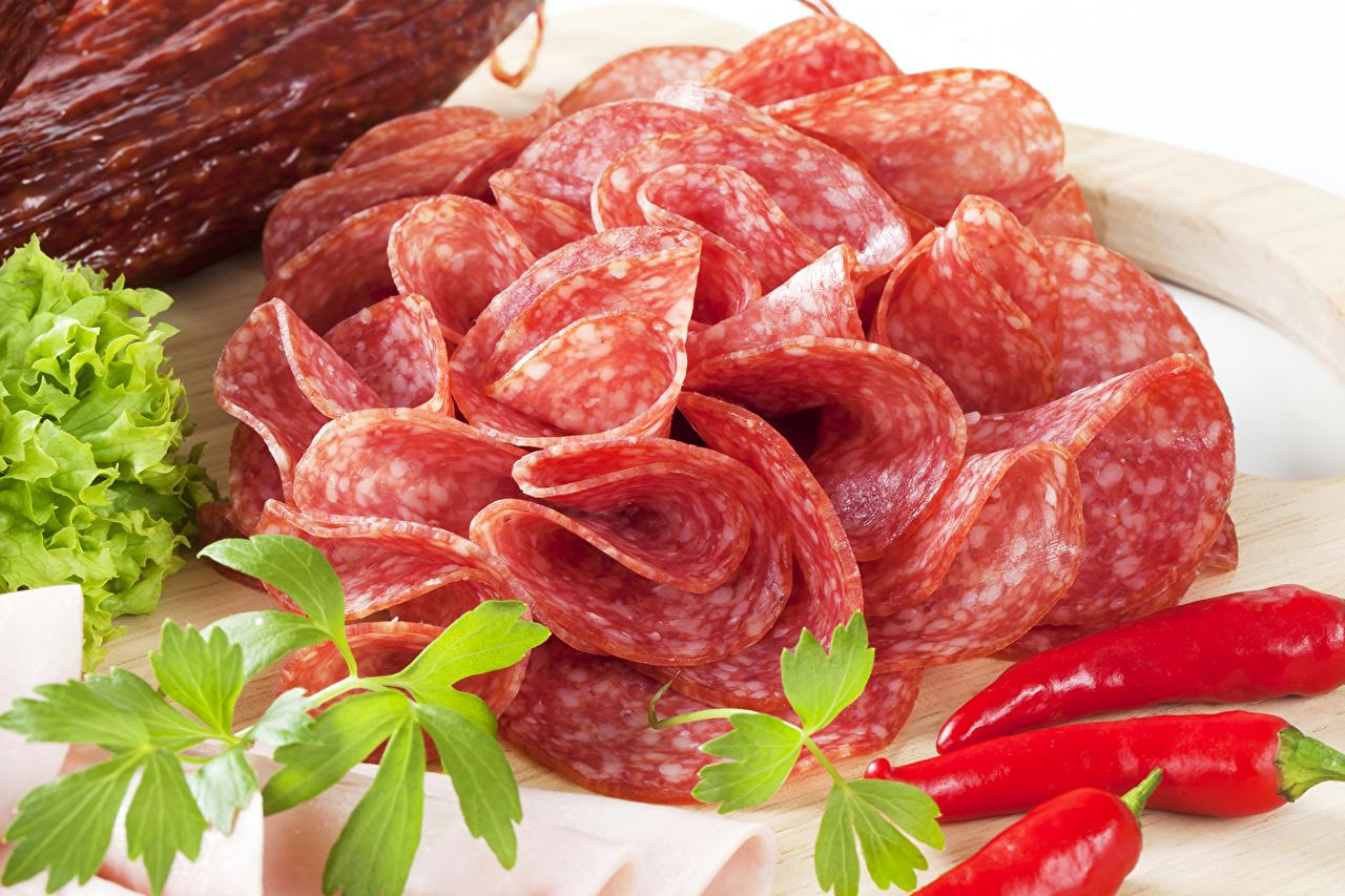Bilder Wurst Peperone Lebensmittel Fleischwaren
