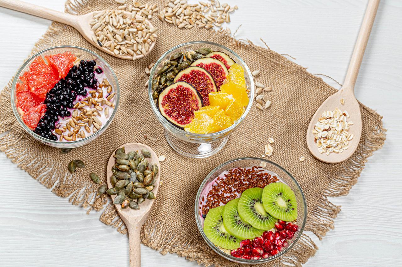 Picture Yogurt Grain Dessert Food Fruit Berry Spoon Sliced food