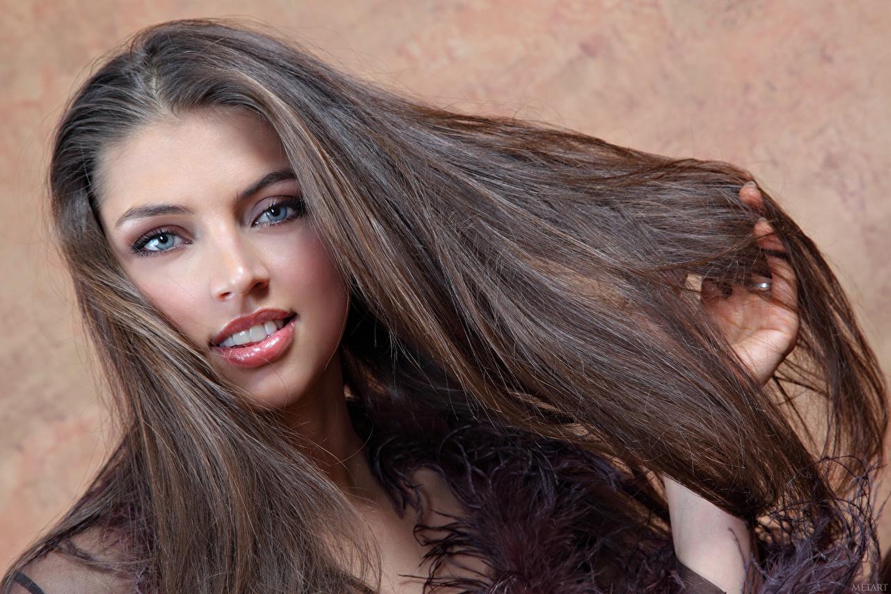 Mädchen 13 haare hübsches braune hübsches mädchen