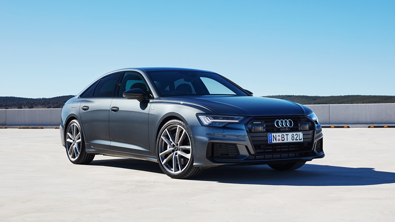 Images Audi Quattro, S-Line, A6, 2019, 55 TFSI Sedan Cars Metallic auto automobile