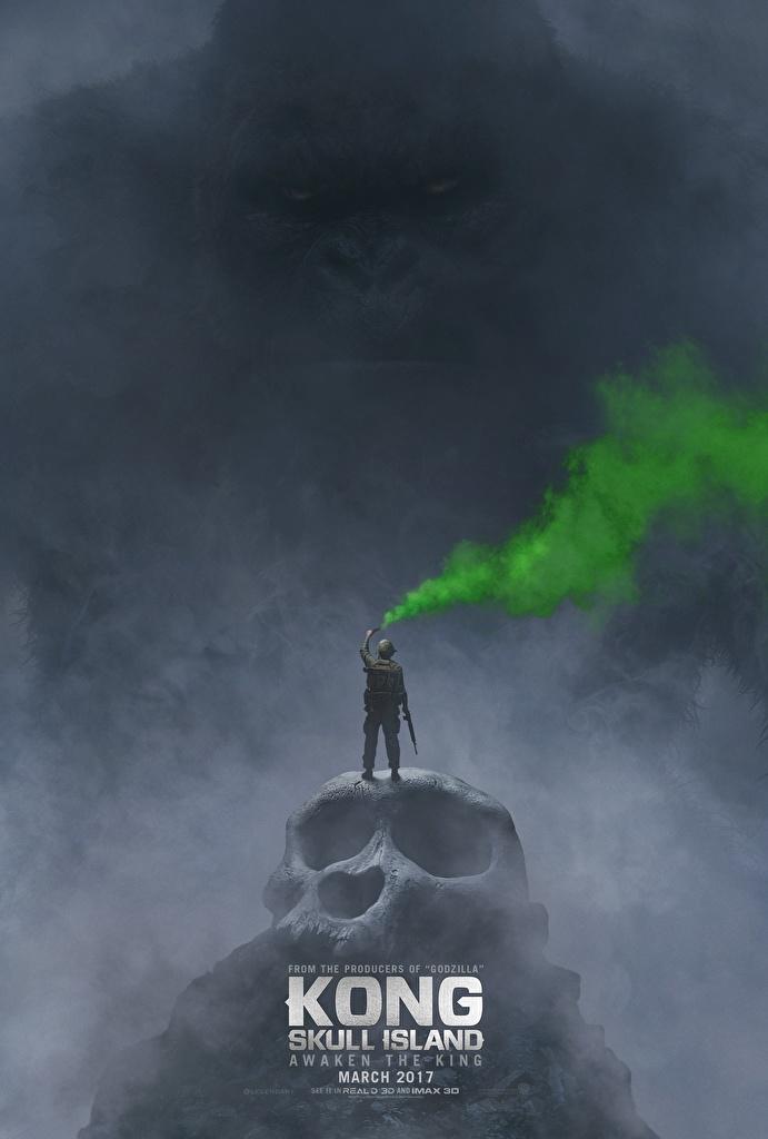 Image Kong: Skull Island Skulls Movies  for Mobile phone film