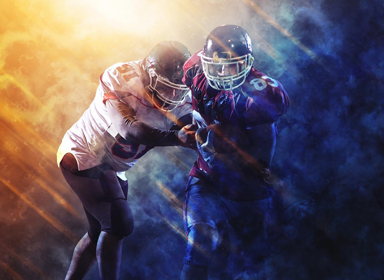 Hintergrundbilder Helm American Football 2 Sport Uniform Zwei