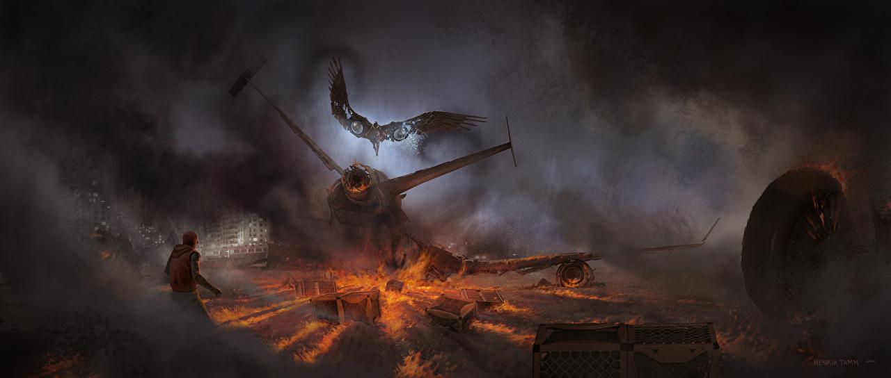 Bilde Spider-Man: Homecoming Spider-Man superhelt Vulture Ild Film katastrofer Røyk flamme Katastrofe