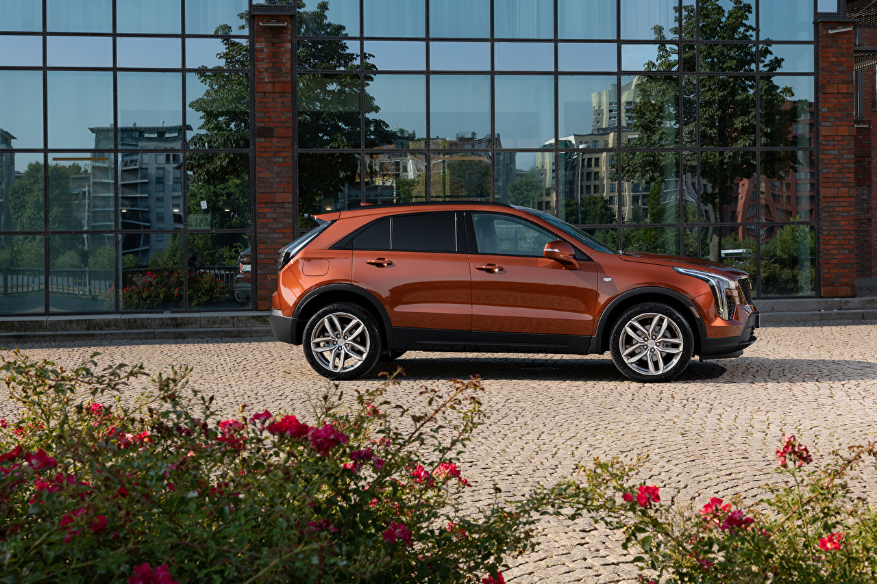Photos Cadillac Crossover XT4 350D, Launch Edition Sport, 2020 Brown Side Metallic automobile CUV Cars auto