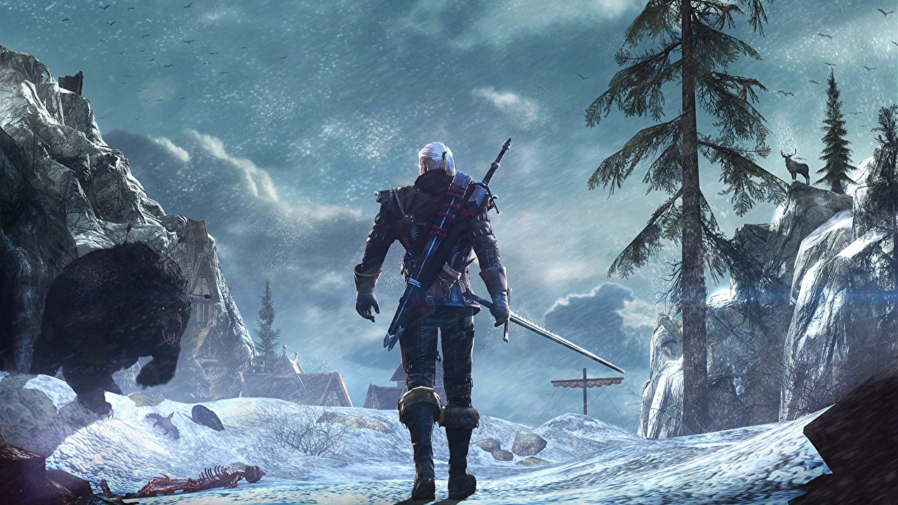 Photo The Witcher The Witcher 3 Wild Hunt Swords Geralt Of