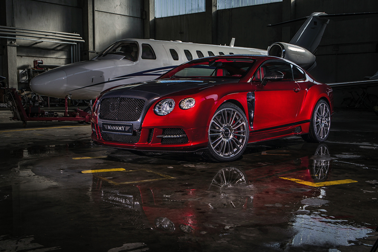 Picture Bentley 2013 Mansory Continental GT Sanguis Red auto Cars automobile