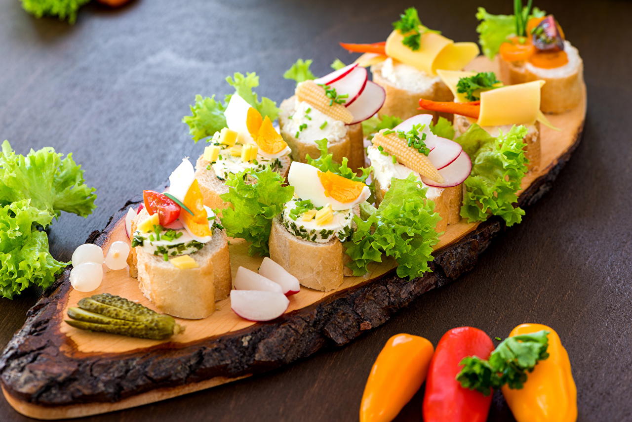 Image egg Cucumbers Bread Butterbrot Food Pepper Vegetables Eggs